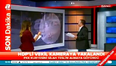 HDP'li vekilin şok görüntüleri