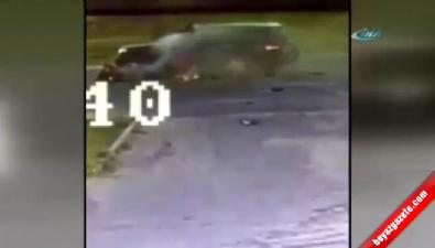 Rusya'da korkunç kaza saniye saniye kamerada
