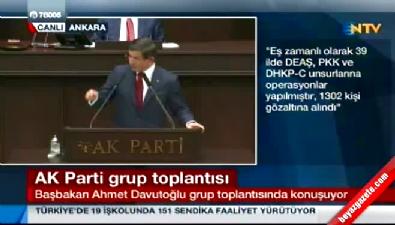 Başbakan Davutoğlu'ndan çok sert açıklamalar