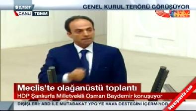 Osman Baydemir'in o sözü Meclis'i karıştırdı