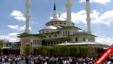 Beştepe Millet Camii Cumhurbaşkanı Recep Tayyip Erdoğan tarafından açıldı