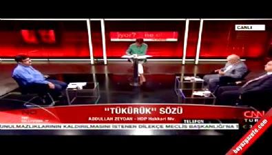 HDP vekil konuşmasından dolayı özür diledi