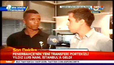 fenerbahce - Nani İstanbul'da