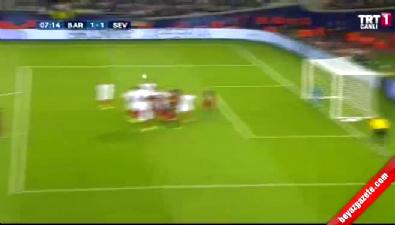 barcelona - Barcelona: 1 Sevilla: 1 (Gol: Messi) UEFA Süper Kupa finali