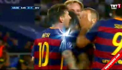 barcelona - Barcelona: 3 Sevilla: 1 (Gol: Rafinha) UEFA Süper Kupa finali