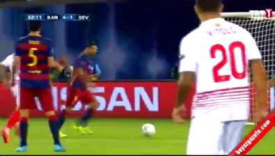 barcelona - Barcelona: 4 Sevilla: 1 (Gol: Suarez) UEFA Süper Kupa finali