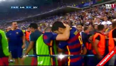 barcelona - Barcelona: 5 Sevilla: 4 (Gol: Pedro) UEFA Süper Kupa finali