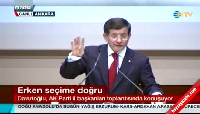 Davutoğlu Bahçeli'ye seslendi !