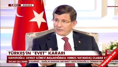 Davutoğlu: Sümeyye Erdoğan'la ilgili söylenenler beni üzdü