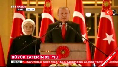 Cumhurbaşkanı Erdoğan görevdeki askerlerin bayramını kutladı