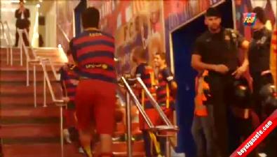 barcelona - Arda Turan Messi'yi kahkalara boğdu