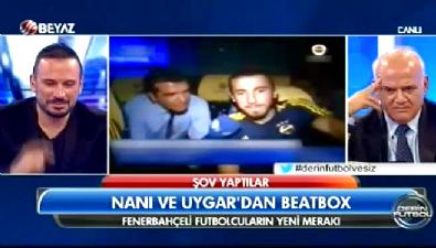 fenerbahce - Fenerbahçeli futbolculardan Beatbox şov