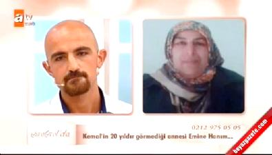 Esra Erol'da Kemal 20 Yıl Sonra Annesinin Fotoğrafını İlk Kez Gördü