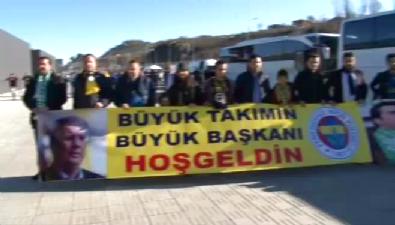 fenerbahce - Fenerbahçe'ye davullu zurnalı karşılama