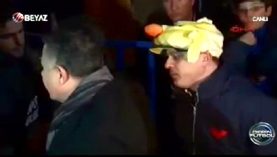 fenerbahce - Eskişehirspor Başkanı taraftarla tartıştı