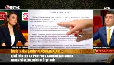 Osman Gökçek: Ne oldu da döndün İdris Naim Şahin? İzle
