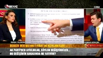 Osman Gökçek: O zaman körmüydün Dengir Mir Fırat?