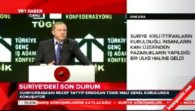 Cumhurbaşkanı Erdoğan'dan BM'ye sert tepki