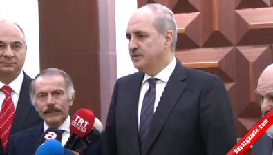 Başbakan Yardımcısı Numan Kurtulmuş Yeni Akit Gazetesini Ziyaret Etti