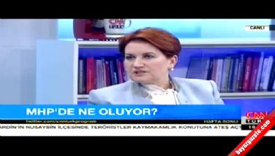 Meral Akşener: MHP değişikliği yaparsa başbakan olurum