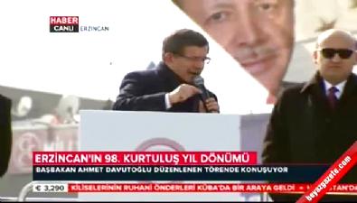 Başbakan Davutoğlu'ndan Demirtaş'a tepki