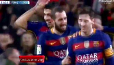 barcelona - Messi'den sıradışı penaltı