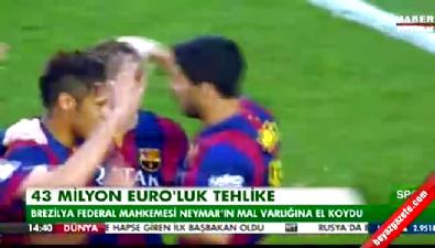 barcelona - Neymar'ın 40 milyon Euro değerindeki mal varlığına el konuldu