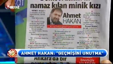 Tahir Sarıkaya'dan Ahmet Hakan'a çok ağır sözler