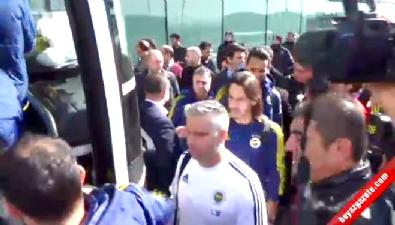 fenerbahce - Fenerbahçe kafilesi Diyarbakır'da