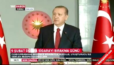 Cumhurbaşkanı Erdoğan: Gözüm üzerinizde