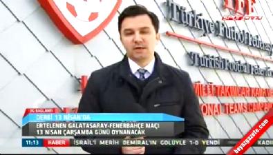 fenerbahce - Galatasaray - Fenerbahçe derbisinin tarihi belli oldu