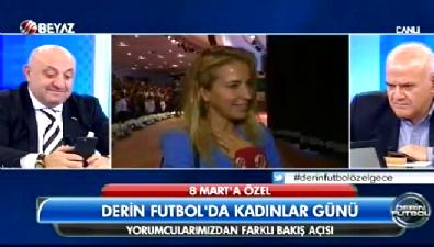 Burcu Esmersoy ve Türkan Şoray Beyaz Futbol'a konuştu