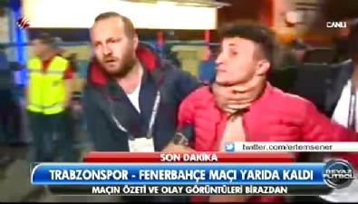 Trabzon'u karıştıran taraftar gözaltına alındı