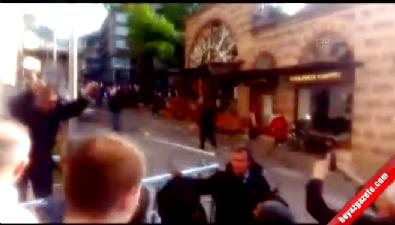 Bursa'da Ulu Cami Önünde patlama! İşte olay yerinden ilk görüntüler