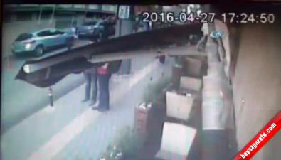 Bursa'daki saldırı güvenlik kamerasında