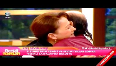 Benim adım Cemil, Sevim'i stüdyoda görünce ağladı!