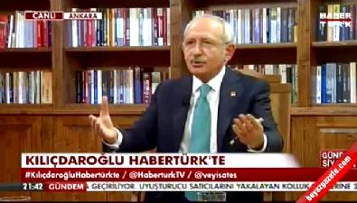 Kılıçdaroğlu:Cesaret edip bizi kendi tv kanallarına çıkarmadılar