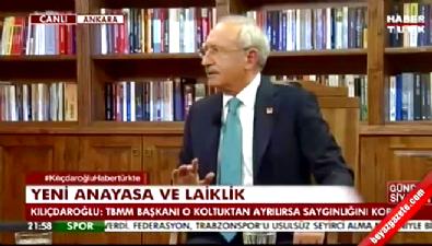 Kılıçdaroğlu: TBMM Başkanı o koltuktan ayrılmalıdır
