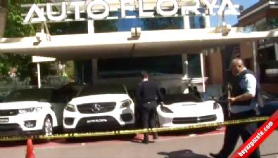 Florya'daki oto galeride silahlı çatışma: 1 ölü
