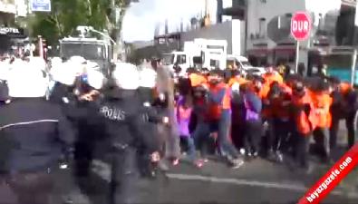 Taksim'e çıkmaya çalışan gruba müdahale Haberi