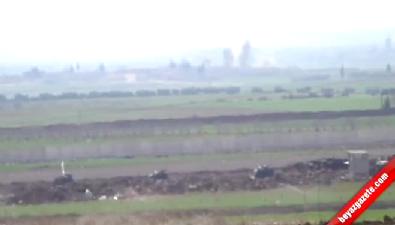 Obüsler IŞİD Mevzilerini Vuruyor
