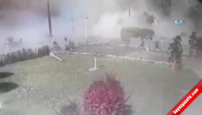 Bomba Yüklü Araç İlk Kez Bu Kadar Yakından Görüntülendi