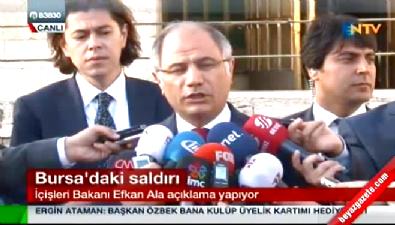 İçişleri Bakanı'ndan Bursa ve Gaziantep saldırılarına ilişkin açıklama