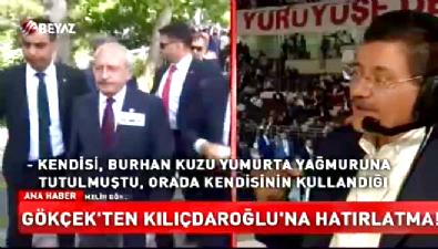 Gökçek'ten Kılıçdaroğlu'na yumurta cevabı