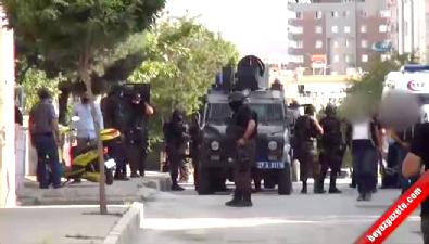 Gaziantep'te hücre evlerine operasyonda patlama