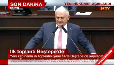 Başbakan Yıldırım : Kurucu başkanımız Recep Tayyip Erdoğan' a selamlar