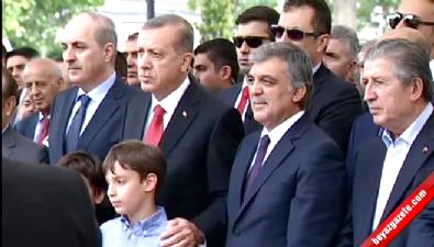 Cumhurbaşkanı Erdoğan, İbrahim Bodur'un cenazesine katıldı