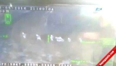 Kemah'ta 3 PKK'lının vurulma anı kamerada