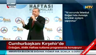 Cumhurbaşkanı Erdoğan Kırşehir'de konuştu Haberi