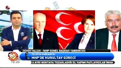 Semih Yalçın MHP'deki son gelişmeleri anlattı
